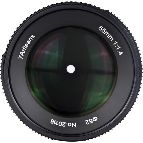 7artisans Photoelectric 55mm f/1.4 Mark II Lens