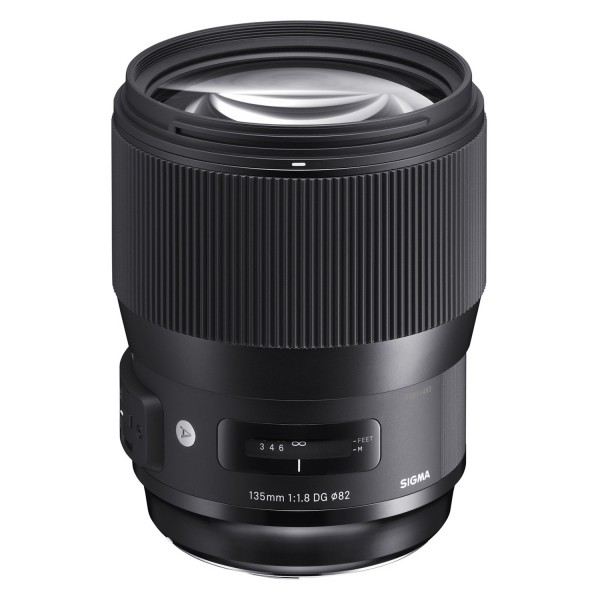 Sigma 135mm f/1.8 DG HSM Art Lens