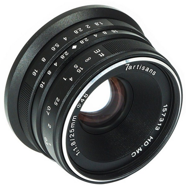 7artisans Photoelectric 25mm f/1.8 Lens for Sony E...