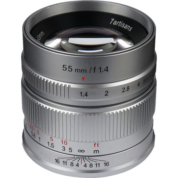 7artisans Photoelectric 55mm f/1.4 Lens