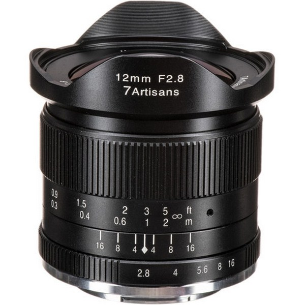 7artisans Photoelectric 12mm f/2.8 Lens