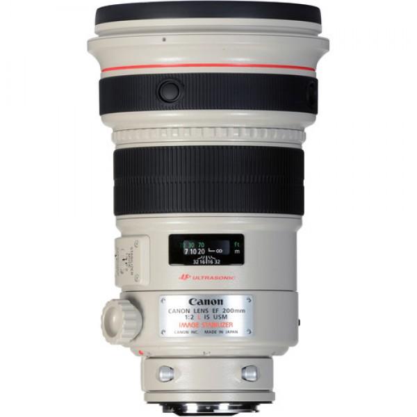 Canon EF 200mm f/2L IS USM Lens