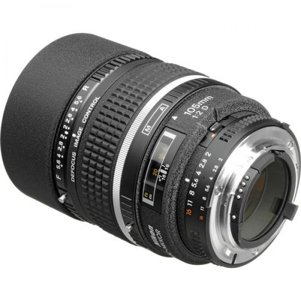 Nikon AF DC-NIKKOR 105mm f/2D Lens