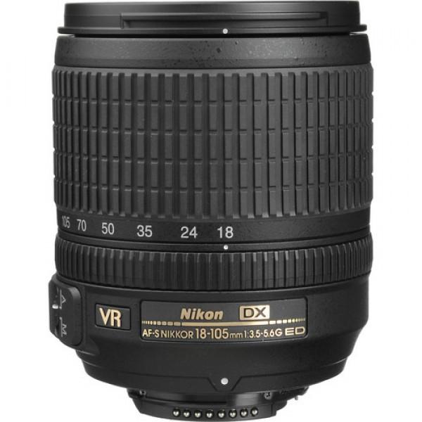 Nikon AF-S DX NIKKOR 18-105mm f/3.5-5.6G ED VR Len...