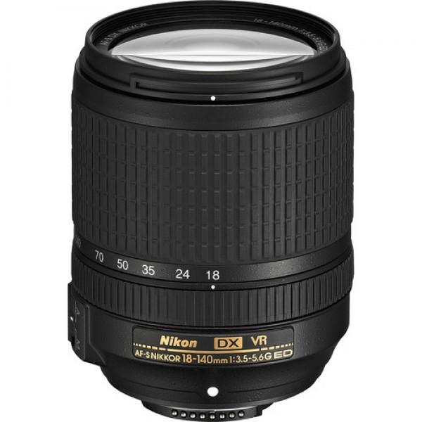 Nikon AF-S DX NIKKOR 18-140mm f/3.5-5.6G ED VR Len...