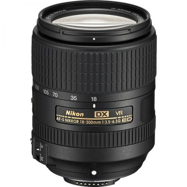 Nikon AF-S DX NIKKOR 18-300mm f/3.5-6.3G ED VR Len...