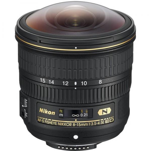 Nikon AF-S Fisheye NIKKOR 8-15mm f/3.5-4.5E ED Len...
