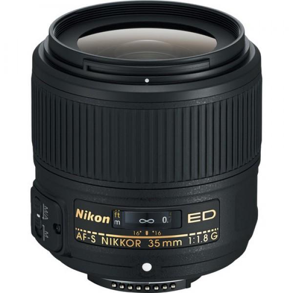 Nikon AF-S NIKKOR 35mm f/1.8G ED Lens