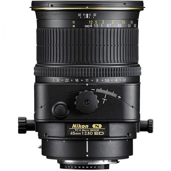 Nikon PC-E Micro-NIKKOR 45mm f/2.8D ED Tilt-Shift ...