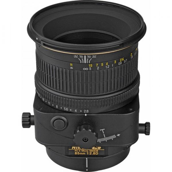 Nikon PC-E Micro-NIKKOR 85mm f/2.8D Tilt-Shift Len...