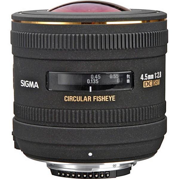 Sigma 4.5mm F2.8EX DC Circular mm Fisheye HSM