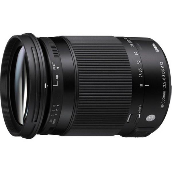 Sigma 18-300mm f/3.5-6.3 DC Macro OS HSM Contempor...