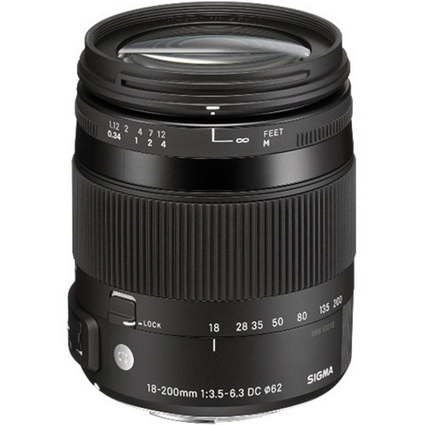 Sigma 18-200mm f/3.5-6.3 DC Macro HSM Contemporary...