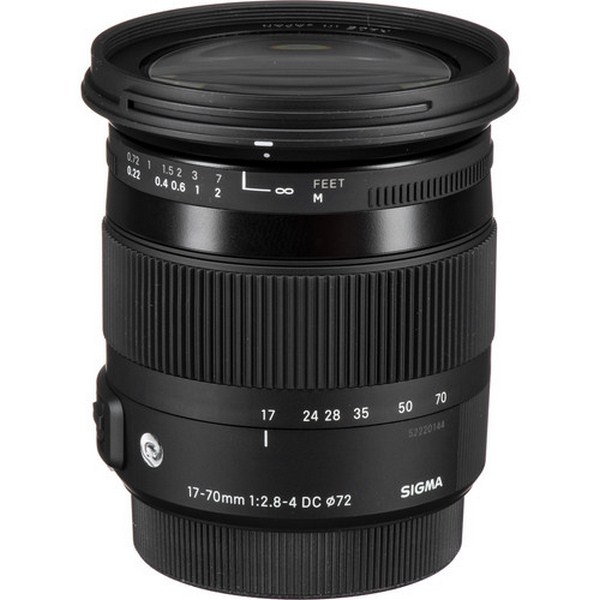 Sigma 17-70mm f/2.8-4 DC Macro HSM Contemporary Le...