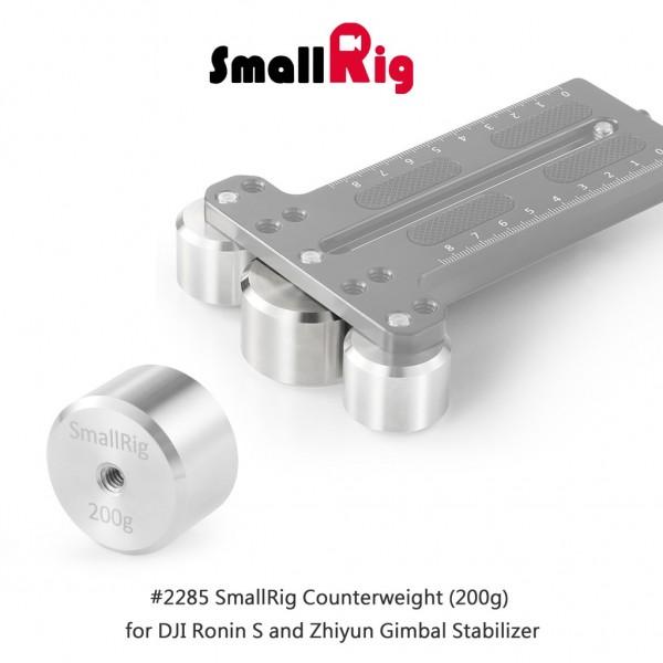 SmallRig Counterweight (200g) for DJI Ronin S and Zhiyun Gimbal Stabilizer 2285
