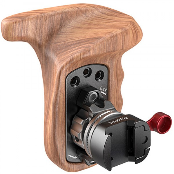SmallRig Left Side Wooden Grip with NATO Mount 211...