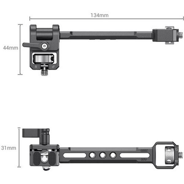 SmallRig Adjustable Monitor Mount for DJI RONIN-S/RONIN-SC & Zhiyun Crane 3/Crane 3S/Weebill-S  & Moza AirCross 2 Gimbal 2889