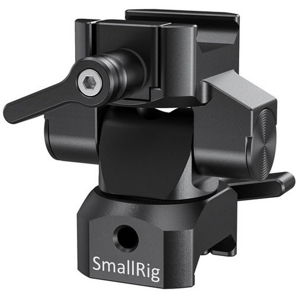 SmallRig Swivel and Tilt Monitor Mount with Nato C...