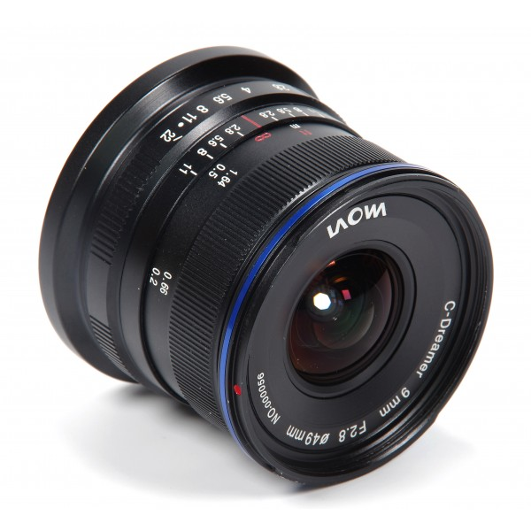 Venus Optics Laowa 9mm f/2.8 Zero-D Lens
