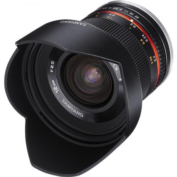 Samyang 12mm f/2.0 NCS CS