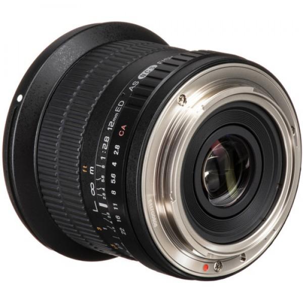 Samyang 12mm f/2.8 ED AS NCS Fisheye Lens